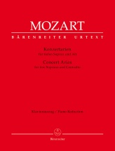 Mozart W.a. - Concert Arias For Low Soprano And Contralto - Piano Reduction