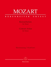 Mozart W.a. - Concert Arias For Tenor