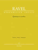 Ravel Maurice - Quatuor A Cordes - Parties Separees