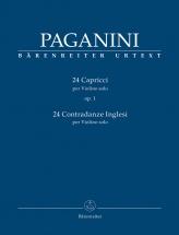 Paganini N. - 24 Capricci Op.1 - Violon