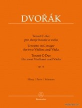 Dvorak A. - Terzetto In C Major Op.74 - Parts