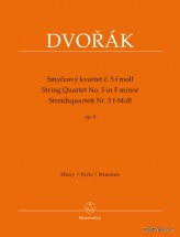 Dvorak A. - String Quartet N°5 In F Minor Op.9 - Parts