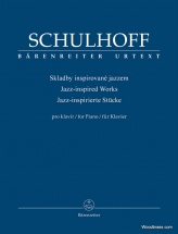 Schulhoff Erwin - Jazz Inspired Works For Piano