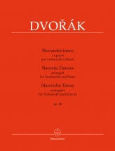 Dvorak A. - Slavonic Dances Op.46 - Violoncelle and Piano