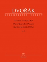 Dvorak A. - Piano Quartet In D Major Op.23