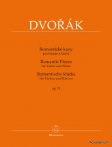 Dvorak A. - Romantic Pieces Op.75 - Violon and Piano