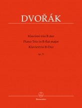 Dvorak A. - Piano Trio B-flat Major Op.21