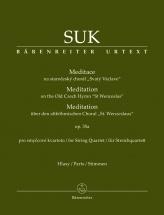 Suk Josef - Meditation On The Old Czech Hymn St Wenceslas Op.35a - Parties Separees