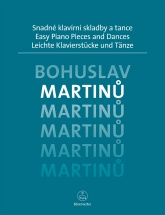 Martinu Bohuslav - Easy Piano Pieces And Dances