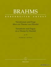 Brahms J. - Variations And Fugue On A Theme By Handel - Piano