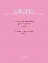 Chopin F. - 24 Preludes Op.28 / Preludes Op.45