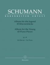 Schumann R. - Album Pour La Jeunesse Op.68 (avec Doigtes) - Piano