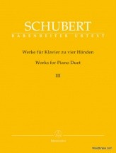 Schubert F. - Works For Piano Duets Vol.3