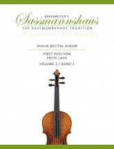 Sassmannshaus - Violin Recital Time Vol.1