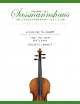 Sassmannshaus - Violin Recital Time Vol.2