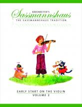 Sassmannshaus, E. & K. - The Sassmannshaus Tradition. Early Start On The Violin, Vol. 2