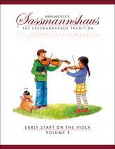 Sassmannshaus Egon & Kurt - Early Start On The Viola Vol.3