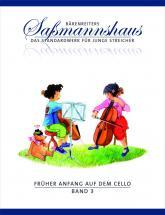 Sassmanshaus - Früher Anfang Auf Dem Cello Band 3 - Violoncelle