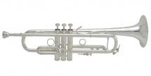 Bach Lr190s-43b - Sib Stradivarius Pavillon Bronze Argentee Branche Inversee