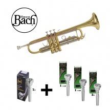 Bach Tr-650 Vernie - + Pack Embouchures 1 1/2c - 1 1/4c - 3c