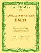 Bach J.s. - Trio Sonata For Flute, Violin & Basso Continuo In C Major Bwv 1032