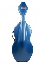 Bam Etui Hightech Pour Violoncelle Avec Roulettes - Bleu Bleu