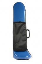 Bam Etui Trombone Jazz Softpack Avec Poche Bleu Outremer