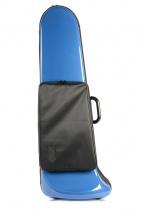 Bam Etui Trombone Basse Softpack Avec Poche Bleu Outremer