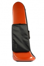 Bam Etui Trombone Basse Softpack Avec Poche Orange
