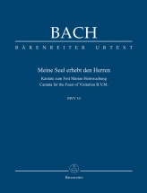 Bach J.s. - Now My Soul Exalts The Lord Bwv 10 - Score
