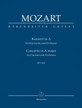 Mozart W.a. - Concerto For Clartinet Kv 622 - Score