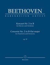 Beethoven - Concerto No.2 In B-flat Major Op.19 For Piano and Orchestra - Score