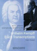 Bach J.s. - Bach Transcriptions - Piano