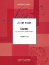 Haydn Joseph - Duetto - Violoncelle and Contrebasse