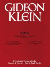 Klein Gideon  - String Trio - String Trio