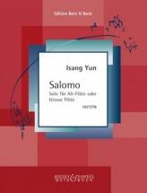 Yun Isang - Salomo - Flute (alto-flute)