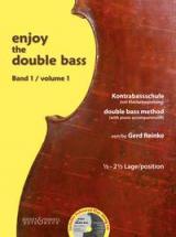 Reinke Gerd - Enjoy The Double Bass Vol.1 + Cd  - Contrebasse