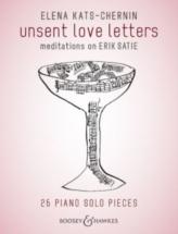 Kats-chernin Elena - Unsent Love Letters - Piano