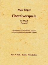 Reger Max - 52 Easy Chorale Preludes Op. 67 - Organ