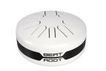 Beat Root Bra-akb - Steel Tongue Drum Acoustique - Gamme Akebono - Blanc - Sac De Transport Et Baguettes Fourn