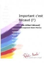 Bcaud G. - Martin R. - Important C'est Bcaud (l')