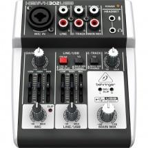 Console Behringer Xenyx 302usb Console De Mixage 3 Entrees Avec Alim Fantome Nouveaute