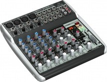 Behringer Xenyx Qx1202usb Console Table Mixer De Mixage Usb 12 Entrees Effets Klark Teknik Nouveaute