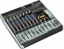 Behringer Xenyx Qx1222usb Console Table Mixer De Mixage Usb 12 Entrees Effets Klark Teknik Nouveaute