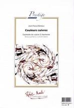 Beintus J.p. - Couleurs Cuivres Pour Quintette De Cuivres Soliste Et Orchestre D