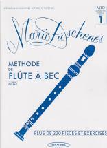Duschenes Mario - Methode De Flute A Bec Alto Et Basse Vol.1