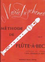 Duschenes Methode De Flute A Bec, Alto, Sopranino Et Basse : Vol 2