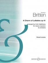 Britten B. - A Charm Of Lullabies Op. 41 - Voix