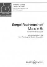 Rachmaninov S. - Messe In H-moll - Voix