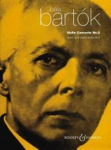 Bartok  Bela - Violin Concerto No 2 - Violin And Orchestra